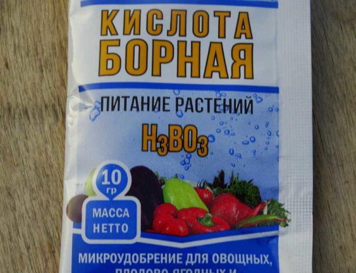 борная кислота для растений: применение для помидоров, огурцов и перцев